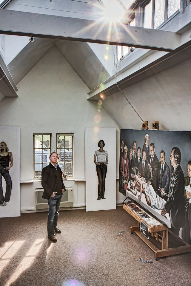 Henry Ward - artist's studio