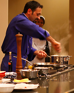 Chef Mimmo at Work