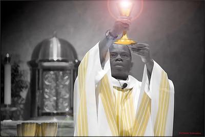 Fr Emery Longanga of the Democratic Republic of Congo, Africa