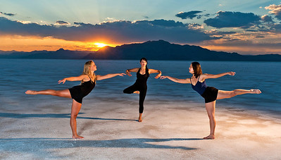 Bonneville Salt Flat Photoshoot