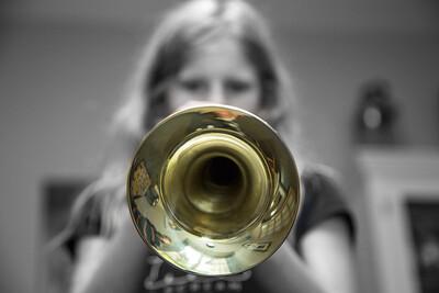 Trumpet Involuntary 226/365