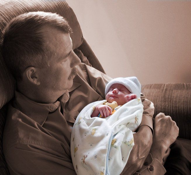Precious Baby (Grandfather and LilyJean) - 2005
