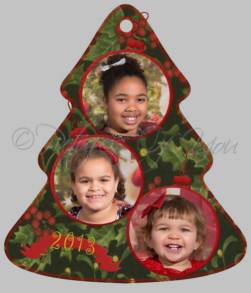 Peralta Tree Ornament B - SAMPLE (please do not order from website, call Angela directly to order)