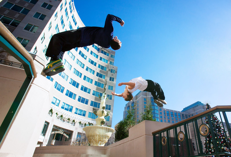 Parkour Athletes