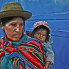 Woman with child, Cuzco, Peru, 2010.