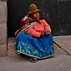Woman begging, Cuzco, Peru, 2010.