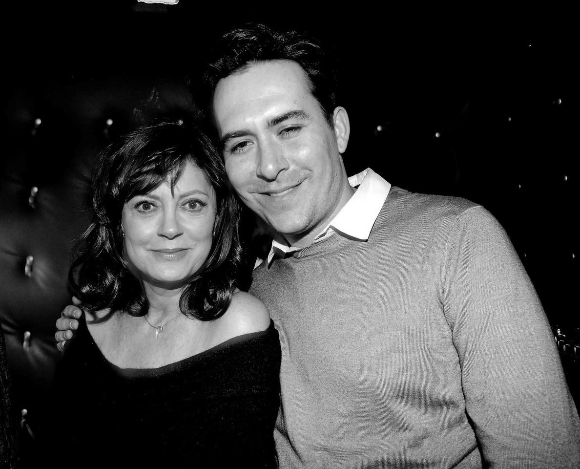 Susan Sarandon and Peter James Cryan