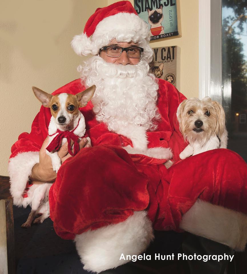 Pixie and Mayor Puppypants?