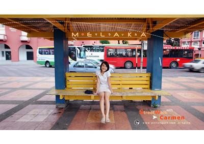 Street Walk with Carmen @ Melaka