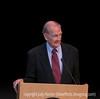 87-year-old Senator George McGovern speaking at Colorado College