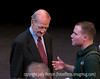 87-year-old Senator George McGovern and a student at Colorado College