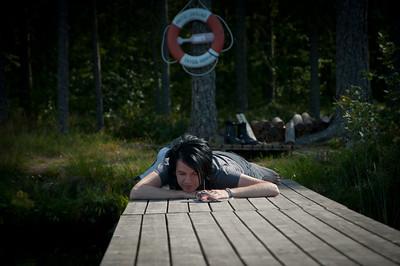 Resa till Dalarna och tillbaka till Uppland, Augusti,  sommaren 2011