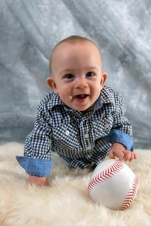 Colton 9 months!