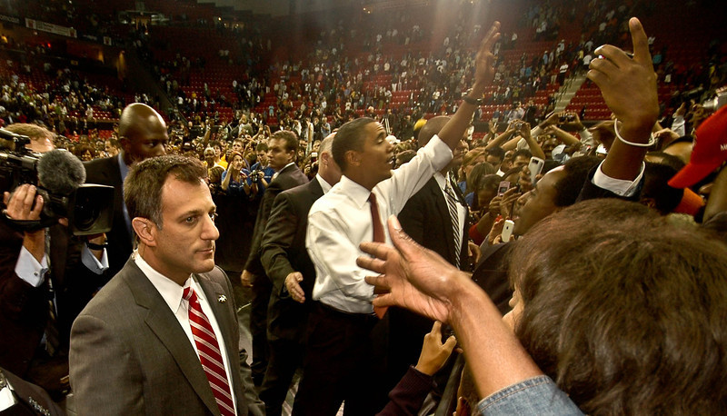 President Barack Obama, University of Maryland, 2009.
