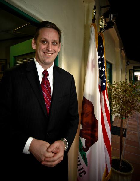 California State Senator Tony Strickland, Santa Barbara, California, 2009.