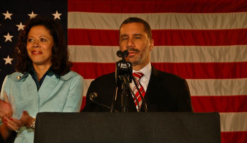New York governor David Alexander Paterson, NY, 2009.