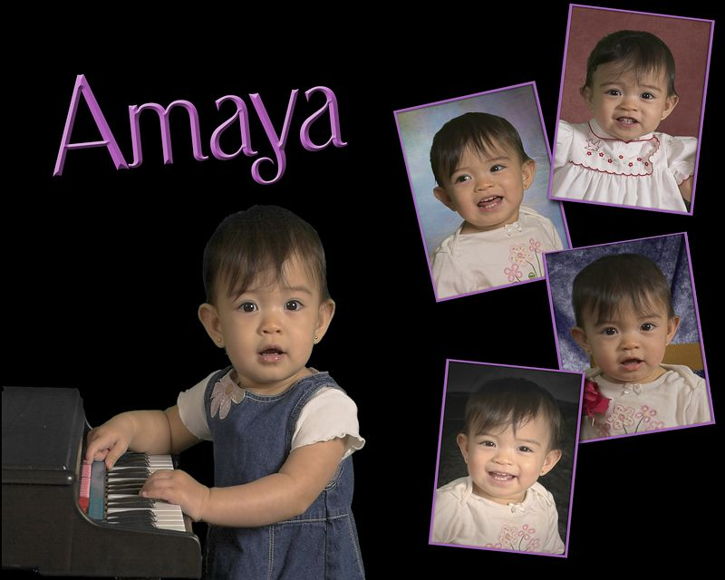 Amaya Collage 8x10 only