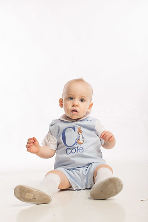 Portrait: Cole's First Birthday