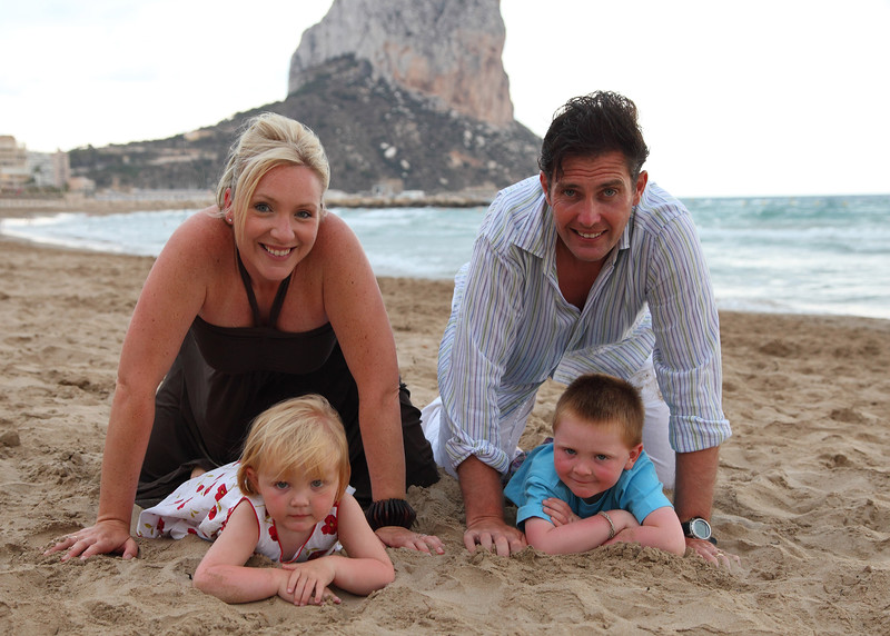 Andy and Rachael Horner in Calpe