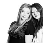 Alison & Georgie Hughes, 4-11-2010 (IMG_6641_pp) silver efex pro 4k