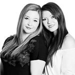 Alison & Georgie, 4-11-2010 (IMG_6641_pp) silver efex pro 4k