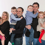 The Guest Family and The Horner Family Studio Shoot, 26th March 2011