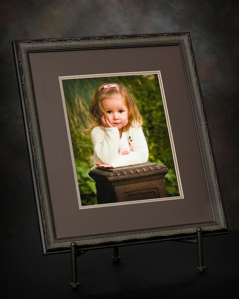 "<h2>CUSTOM FRAMING</H2> <span style=""color:darkgray"">To display my personal fine art photography I began mounting and framing prints over fifteen years ago.  With my low overhead I quickly found I could provide high quality custom matting and framing to my portrait clients at very reasonable prices.  In fact, my everyday custom framing prices are typically below ""do-it-yourself"" store prices, even with their ridiculous sale markdowns.     I work with several local wholesalers to obtain a wide variety of quality frame styles in both metal and wood.  I have hundreds of frame and mat samples at the studio which will give us literally thousands of framing options. We will work together with your finished print to create a look that compliments your portrait and fits perfectly with your home décor.    Because the wholesale price of frame stock varies so widely and is the major determinant of the final price of a particular frame, it is impossible to quote general prices on framing.  Once your enlargement is completed, we just schedule a framing appointment and I am happy to give you prices for your mat and frame selection at no obligation."