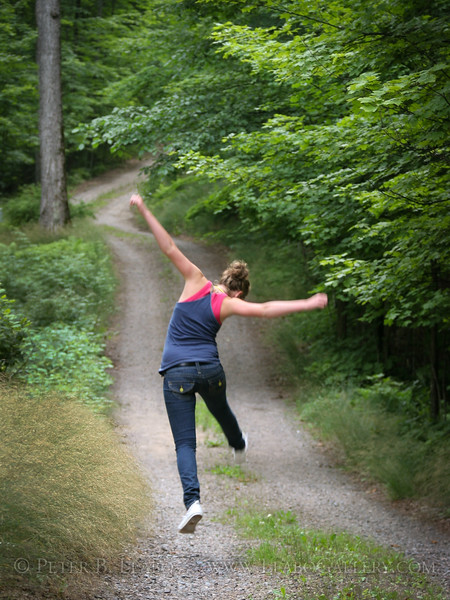 Erica Leabo on a happy path in Wisconsin
