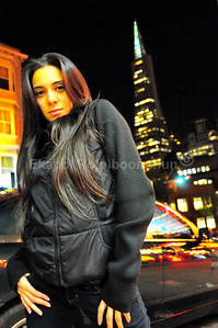 Karina in downtown San Francisco