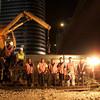 Train workers, Tel Aviv