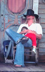 Taken at Knox Berry Farm, California in 1977.  If you know who he is drop me a line.