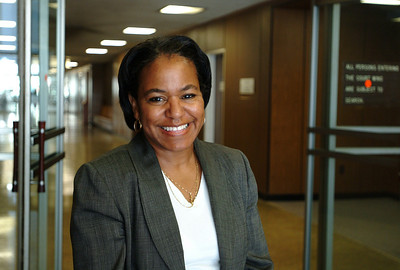 Lauren Thomasson, the first female African American judge in San Joaquin county.