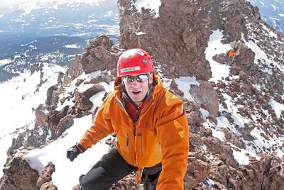 Mountain Rescue Training, Cassaval Ridge, Mt. Shasta.