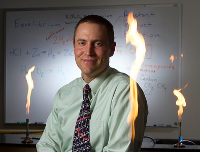 Teacher makes science a hot subject!