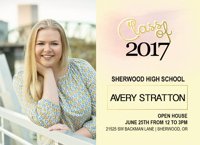 Avery Stratton Grad Card Front