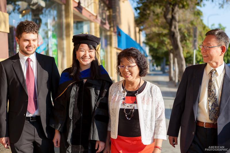 Shieh Graduation Portraits - Berkeley