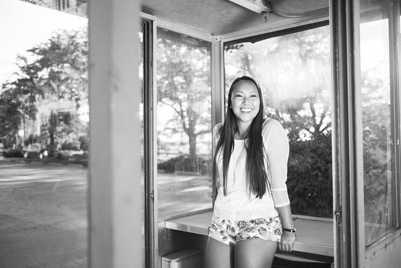 Rockford Downtown Senior Portraits
