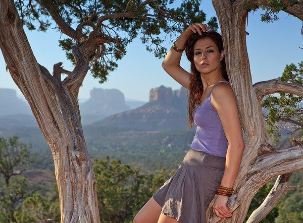 "Canon ""Explorer of Light"" model photo shoot, Sedona, Arizona"