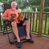 Bill Swaggerty living the dream at his home in East Palatka