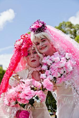 pink brides