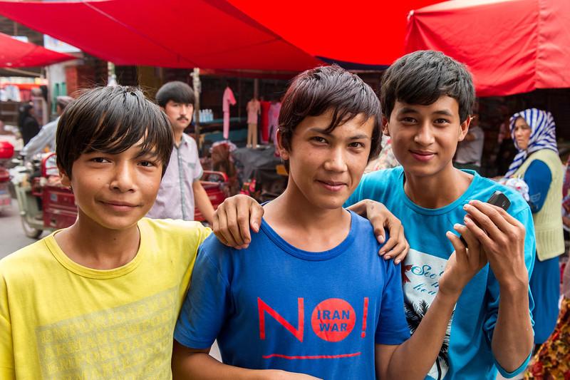 Le grand Bazar de Kashgar