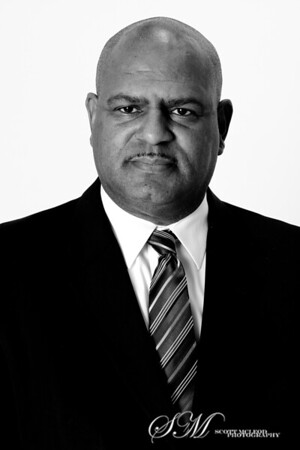 A professional headshot of a Birmingham City Councilman taken by Scott McLeod, corporate and professional headshot photographer.