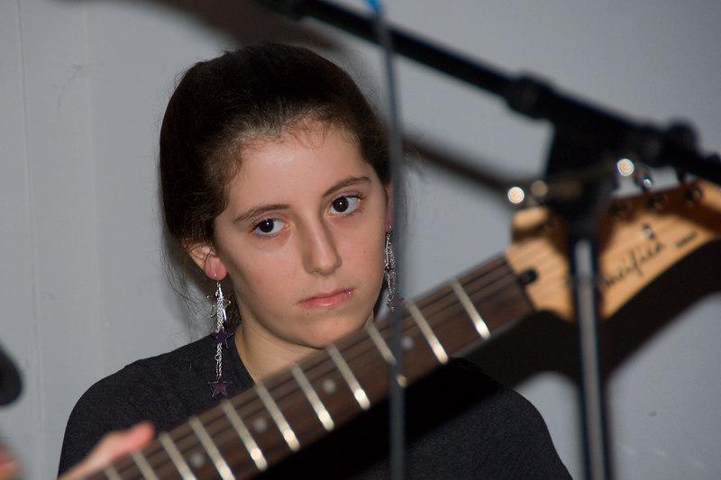 All girls rock band -- Julie Schmitz, Stone Ridge