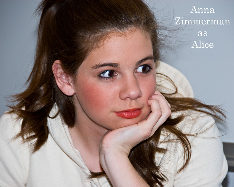 Alice in Wonderland - Anna Zimmerman - Alice