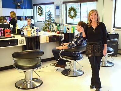 Dona Sciafani, Owner of Snips Hair Salon, Stoneham, MA