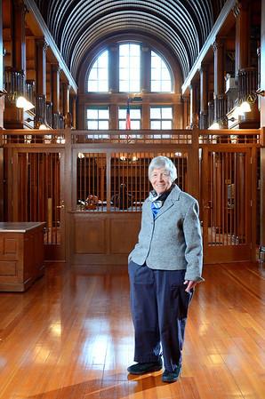 Dina Malgeri, Malden Librarian
