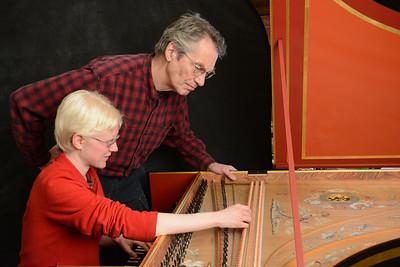 Alan Winkler, Custom Harpsichord Builder, Beth Harris, Clear Note Tuning