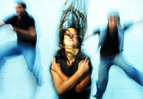 Band Anarchist Duck, promo shot 2009.