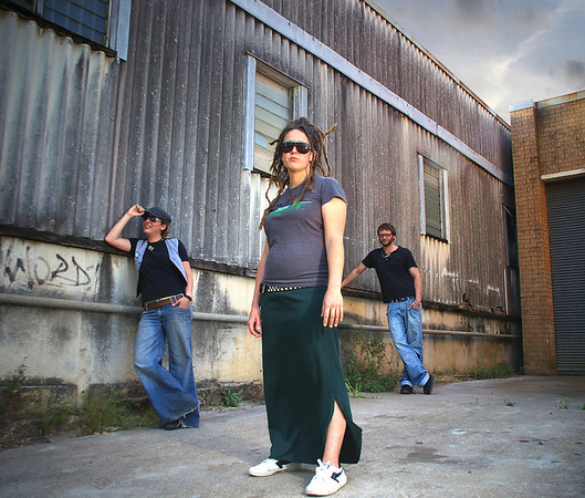 Band Anarchist Duck, promo shot 2009.