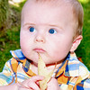 Baby Luke - six month old baby portrait.